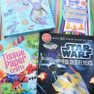 Give Kids the Gift of Crafts & Creativity {Klutz Craft Book Giveaway!}