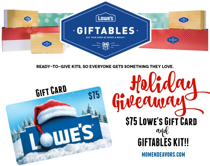 Lowe's Holiday Giveaway