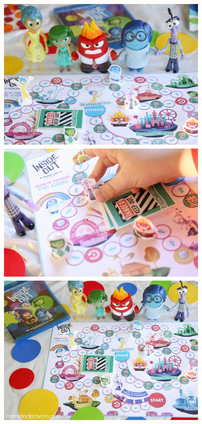 Printable Inside Out Board Game