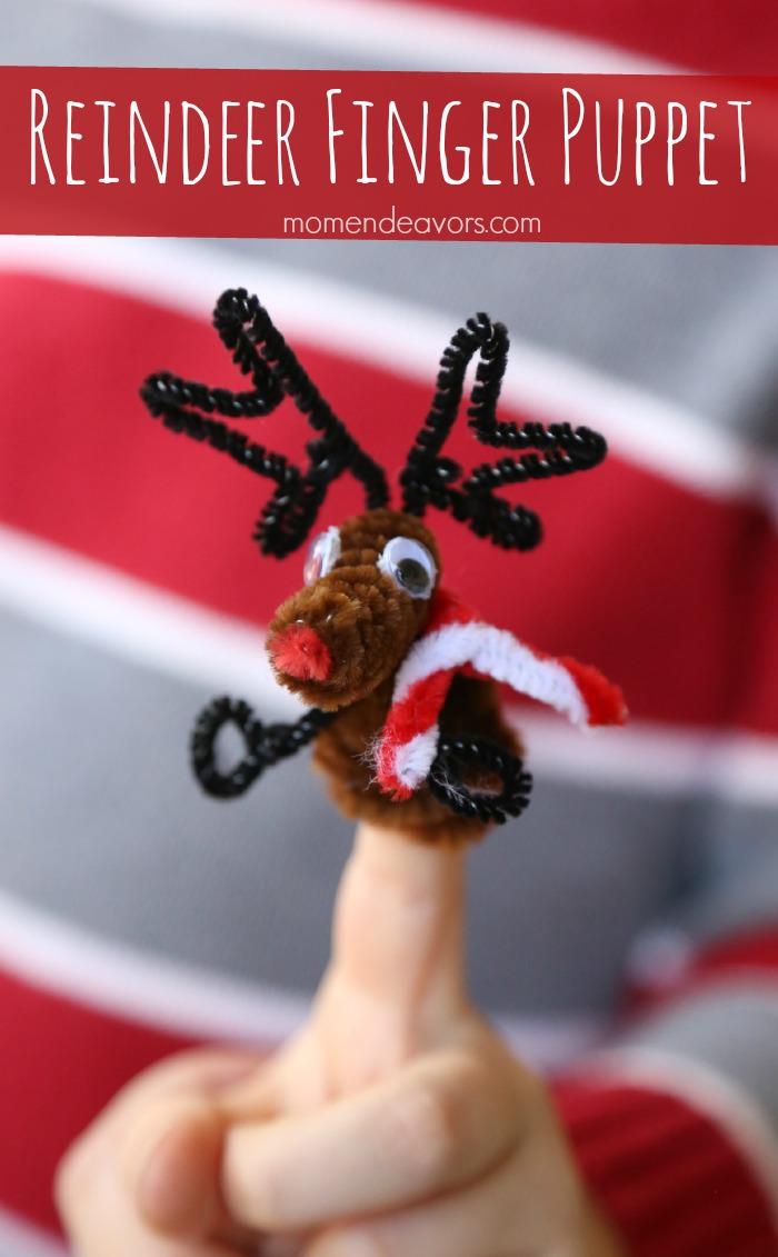 Reindeer Finger Puppet