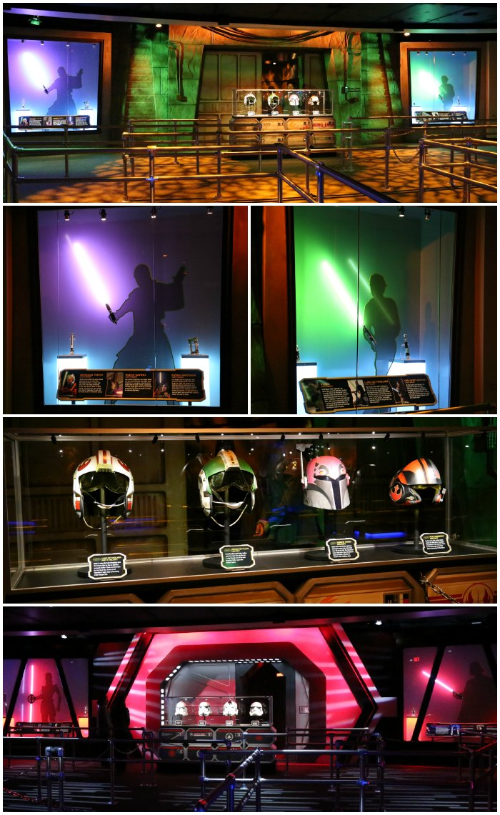 Star Wars Launch Bay Dark Side and Light