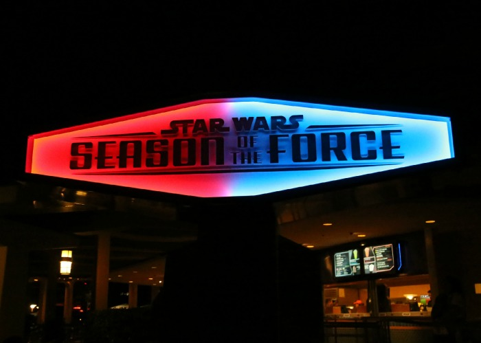 Star Wars Season of the Force Disneyland