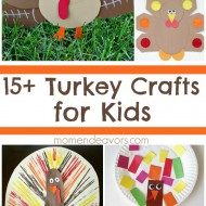 15+ Adorable Turkey Crafts for Kids!