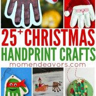 25+ Handprint Christmas Crafts