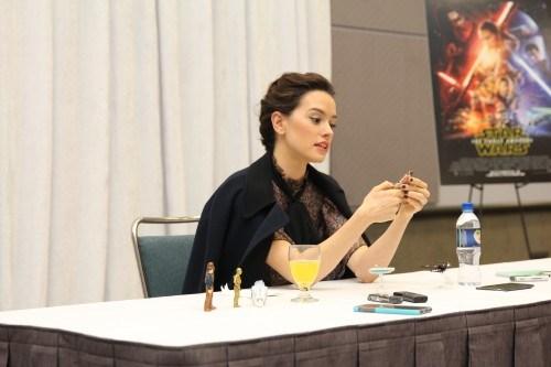 Daisy Star Wars Force Awakens Interview