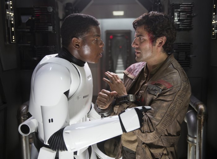 Finn & Poe Force Awakens