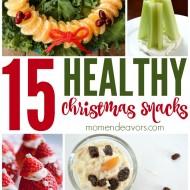 15+ Healthy Christmas Treats & Snacks