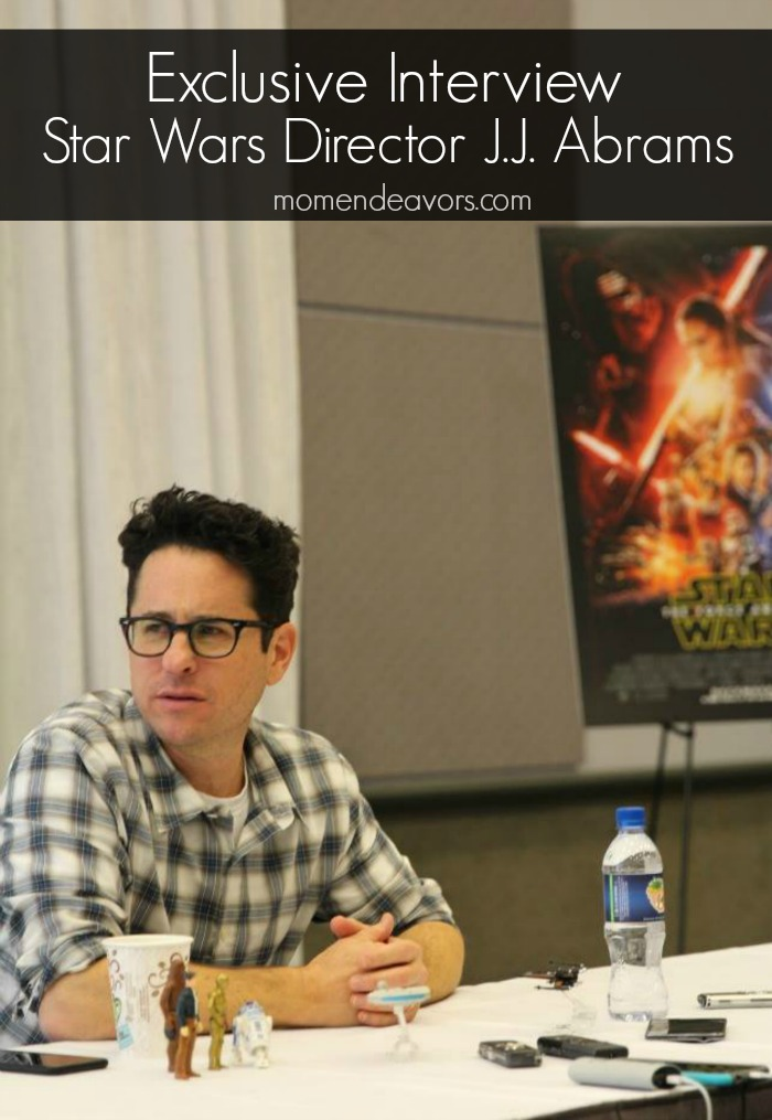 J.J. Abrams Star Wars Interview