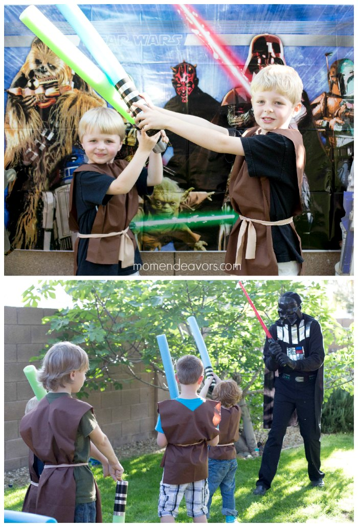 Jedi Training Birthday Jedi Tunics