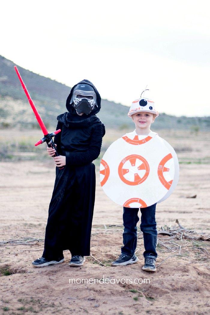 Kylo Ren & BB-8 Costumes