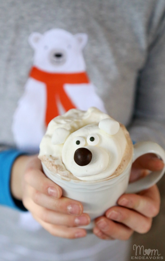 Polar Bear Hot Chocolate Drink