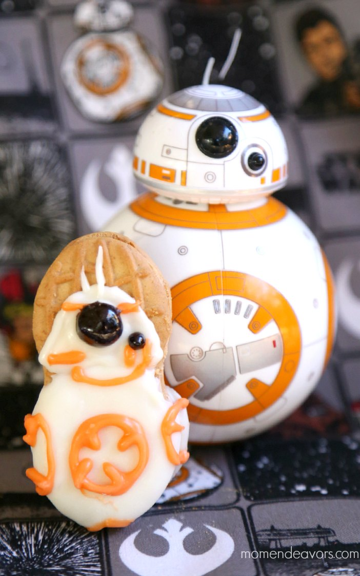 Star Wars BB-8 Cookies
