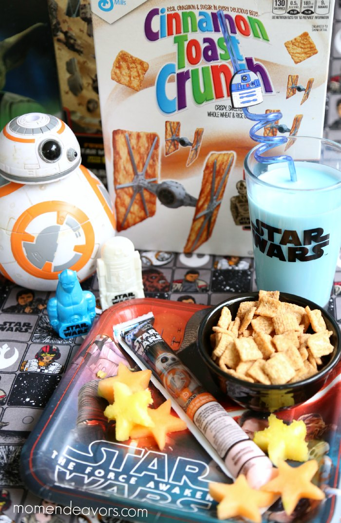 Star Wars Breakfast #AwakenYourTastebuds