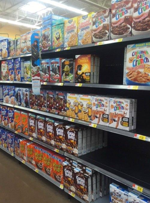 Star Wars Cereal at Walmart