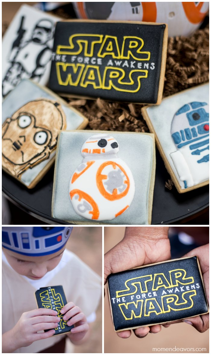 Star Wars Force Awakens Cookies