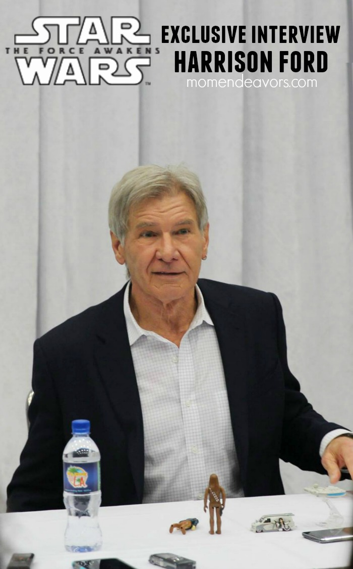 Star Wars Force Awakens Exclusive Interview Harrison Ford