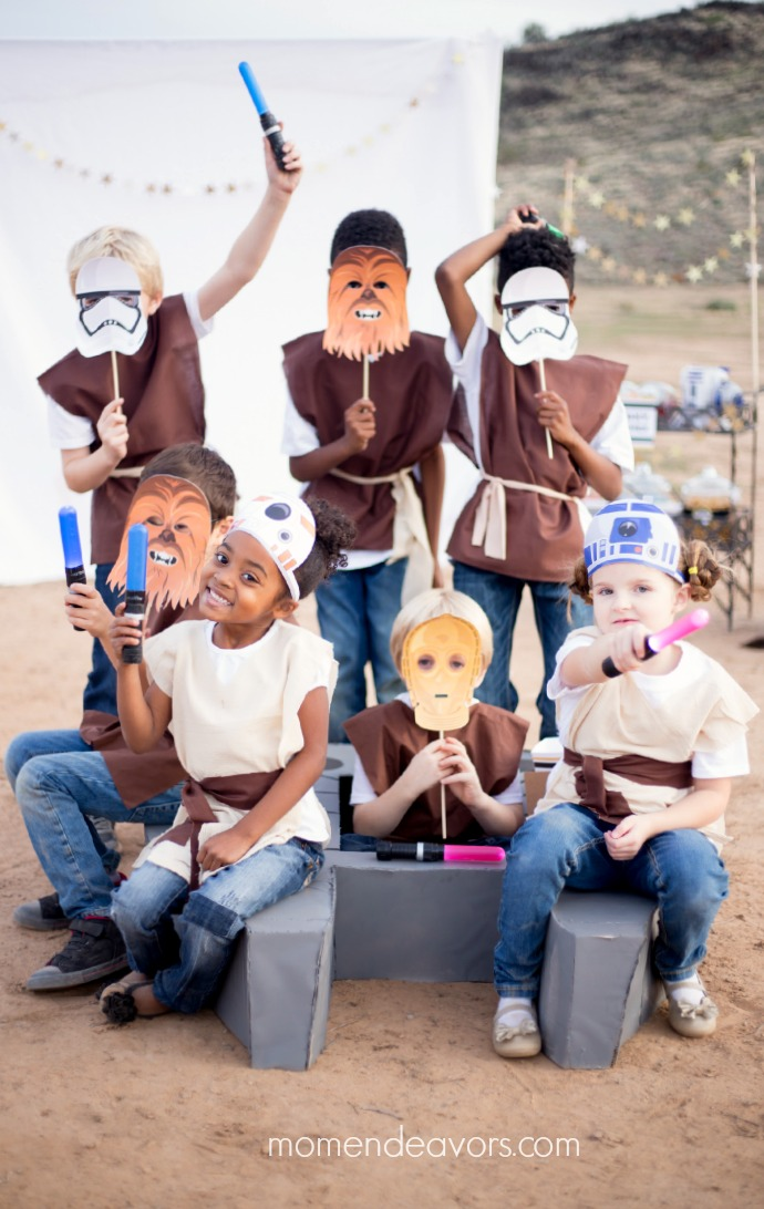 Star Wars Force Awakens Kids Party