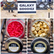 Star Wars Force Awakens Party Idea: Themed Candy Bar {with Free Printables}