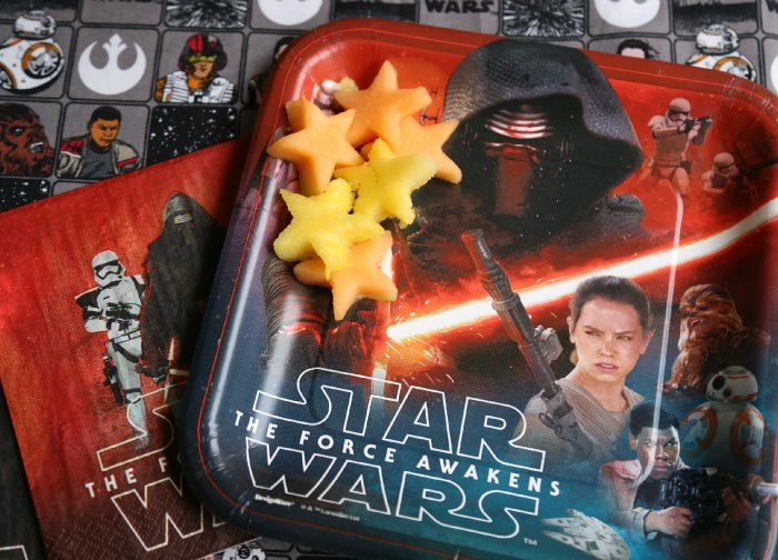 Star Wars Force Awakens Party Plates