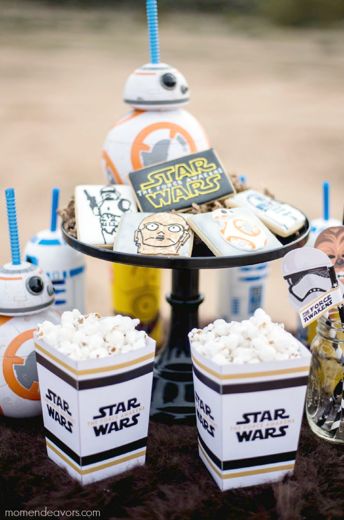 Star Wars Force Awakens Party Treats