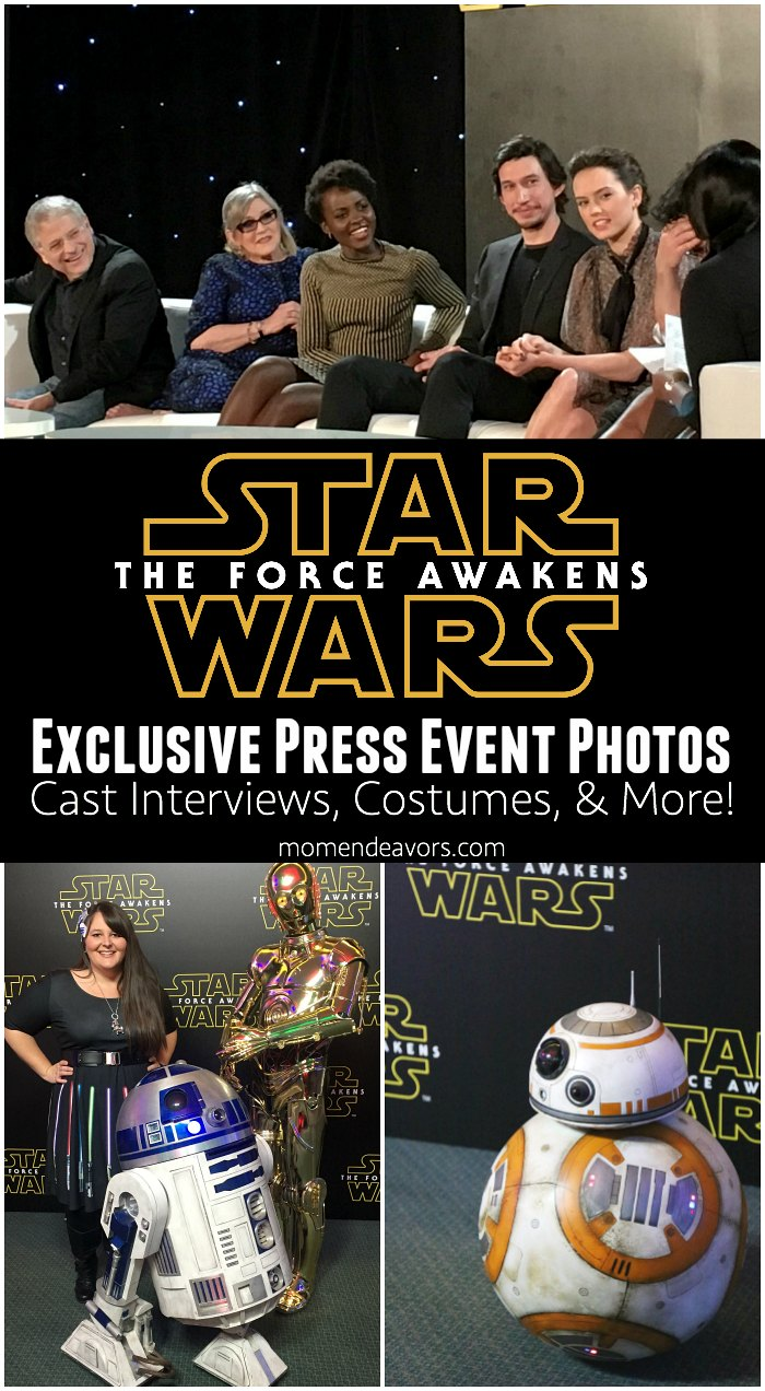 Star Wars Force Awakens Press Event Photos