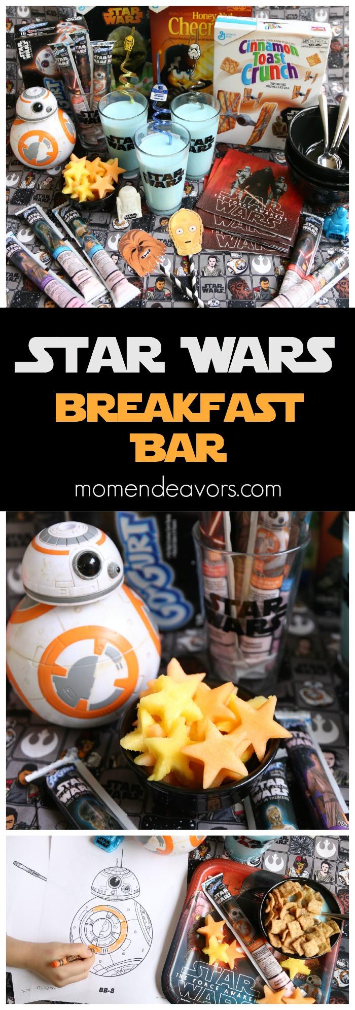 Star Wars Party Breakfast Bar