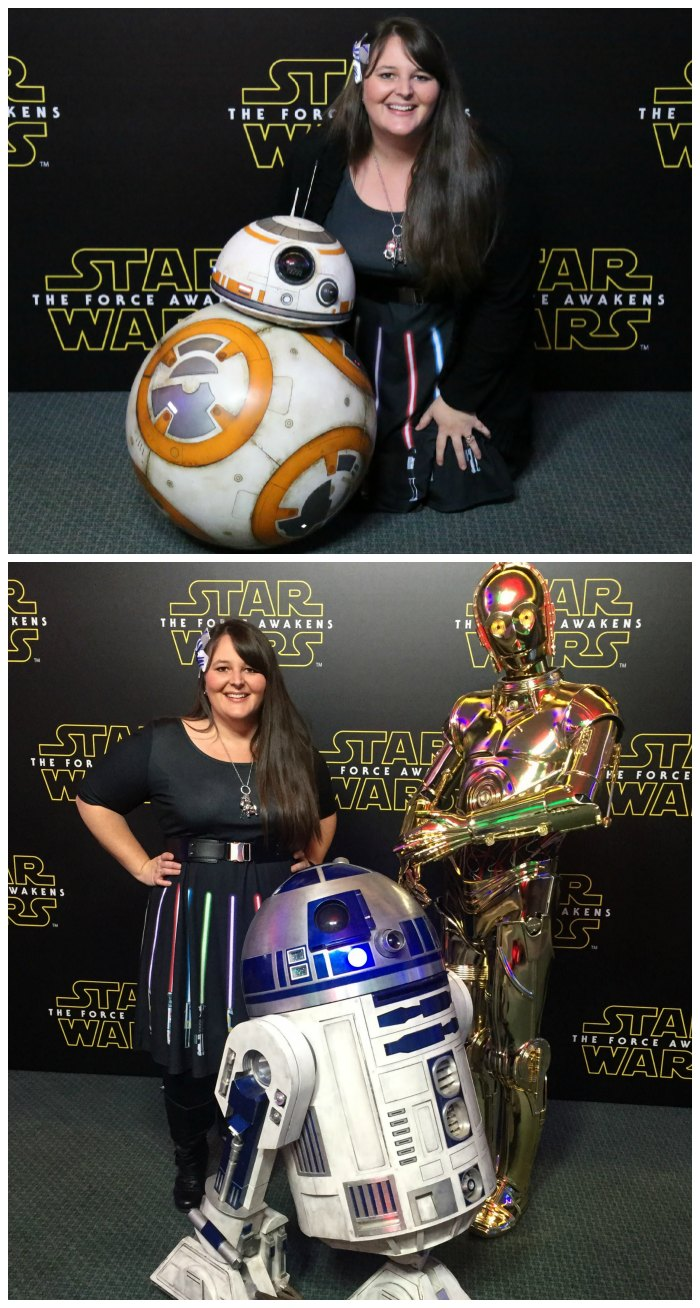 Star Wars Press Event Droids