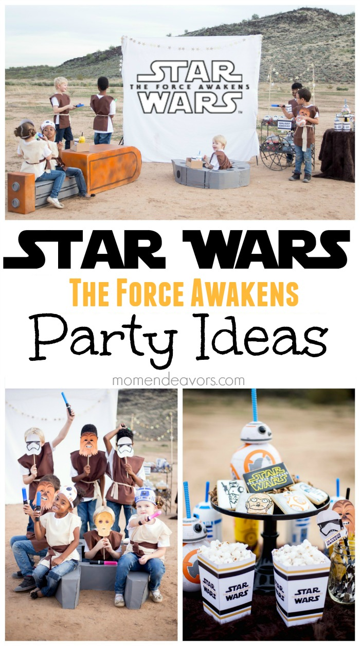 Star Wars The Force Awakens Kids Party Ideas