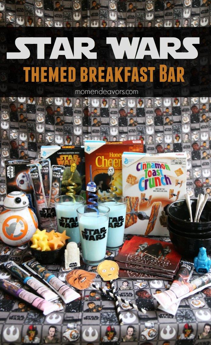 Star Wars Themed Breakfast Bar