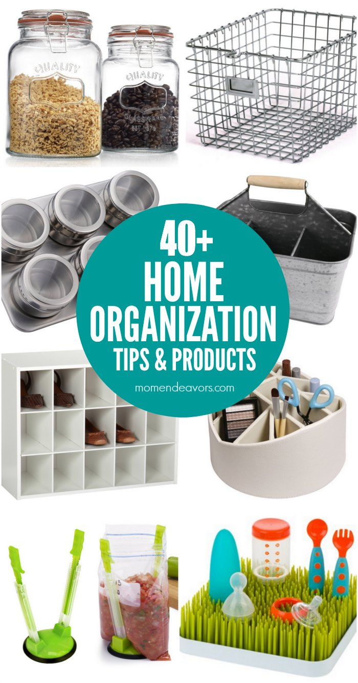 Best Home Organization Tips & Products
