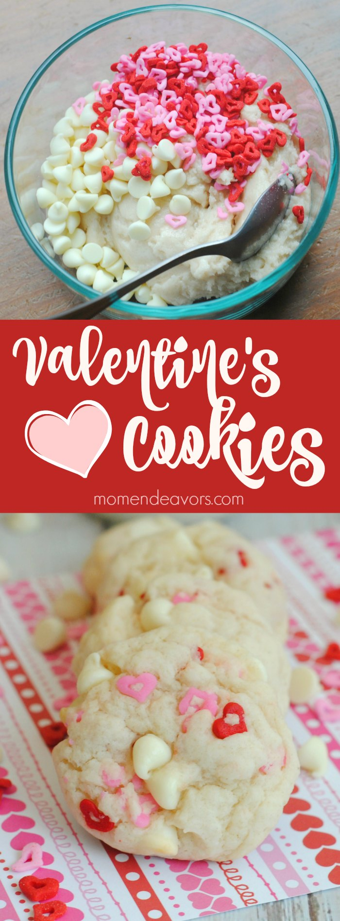 Easy Valentine's Cookies