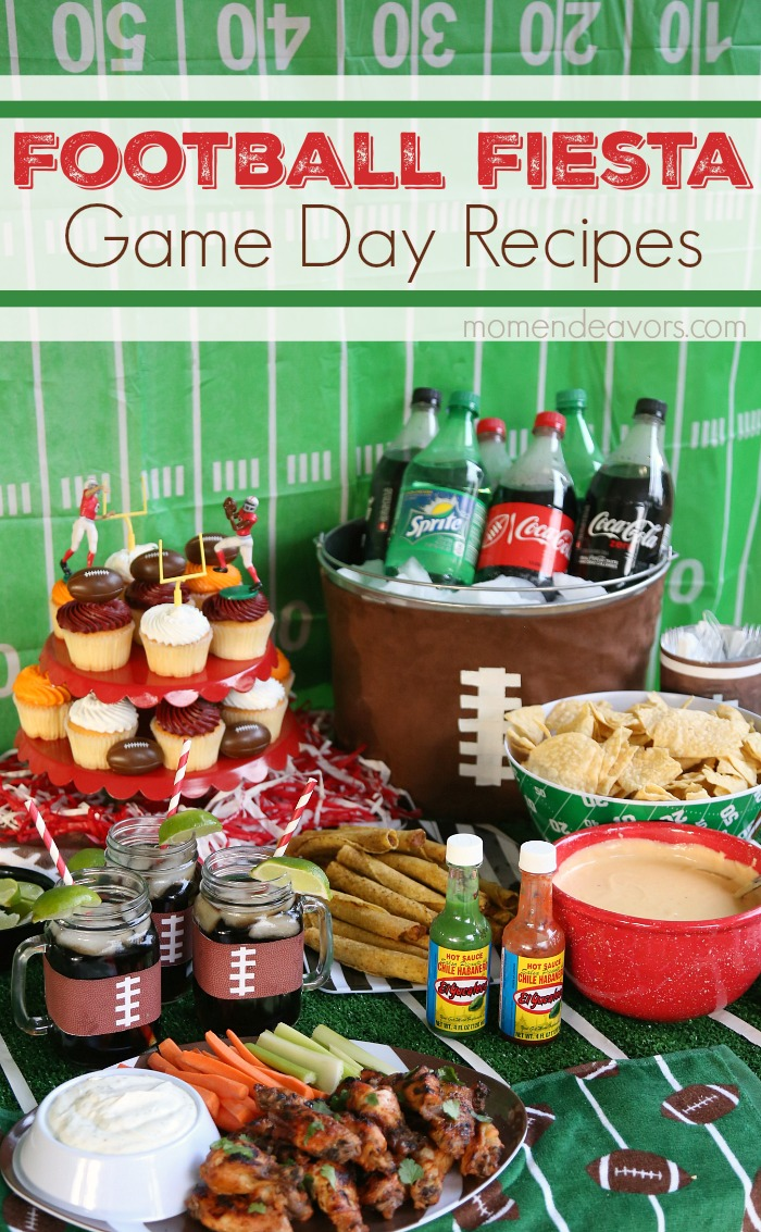Football Fiesta Game Day Party Recipes