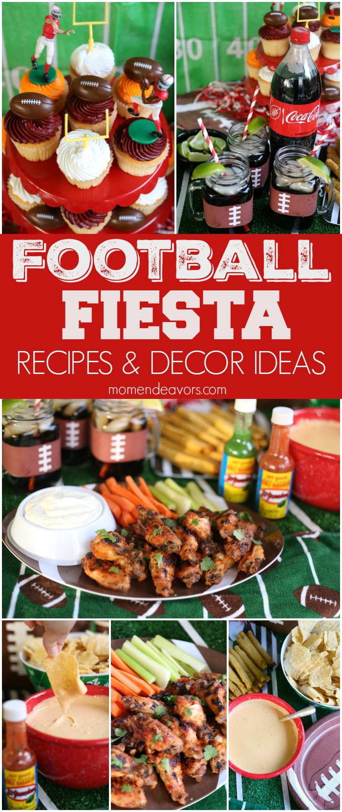 Football Party Recipes & Decor Ideas