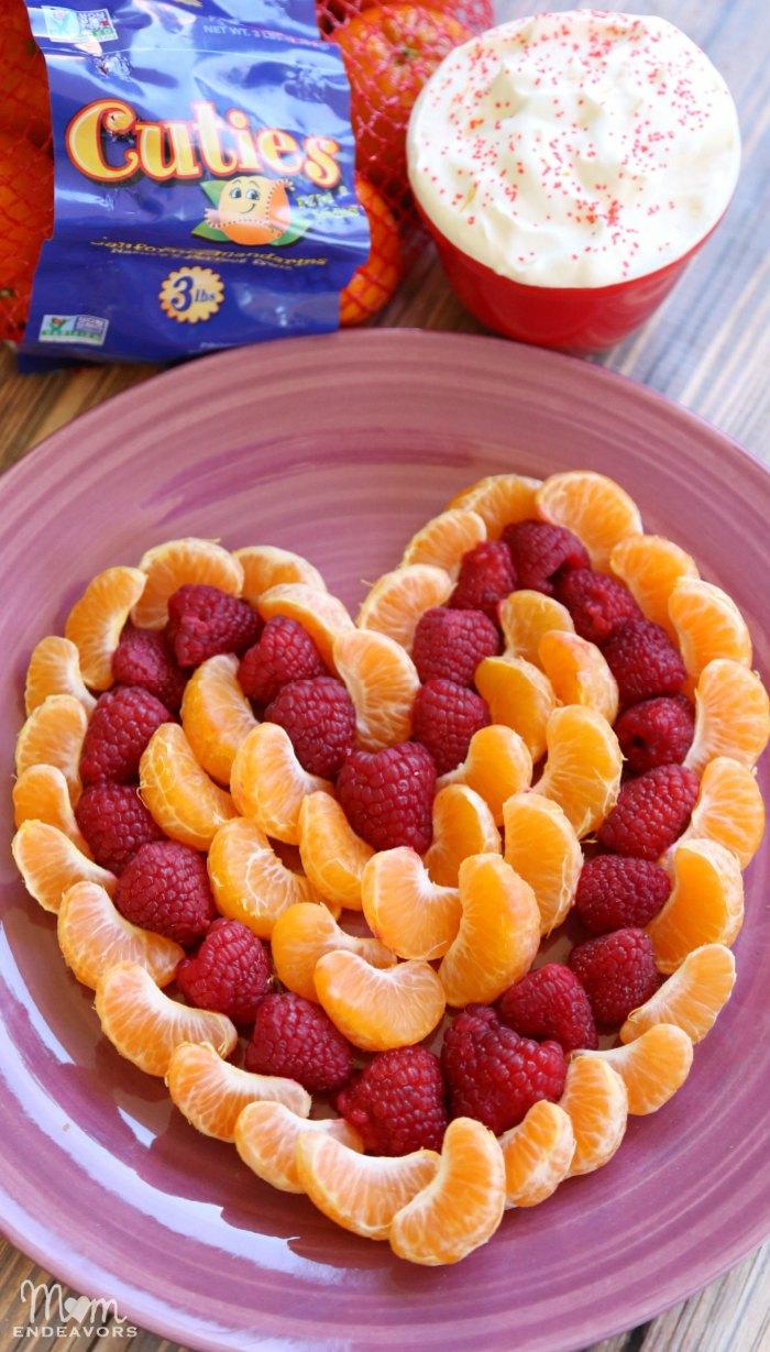 Heart Fruit Platter