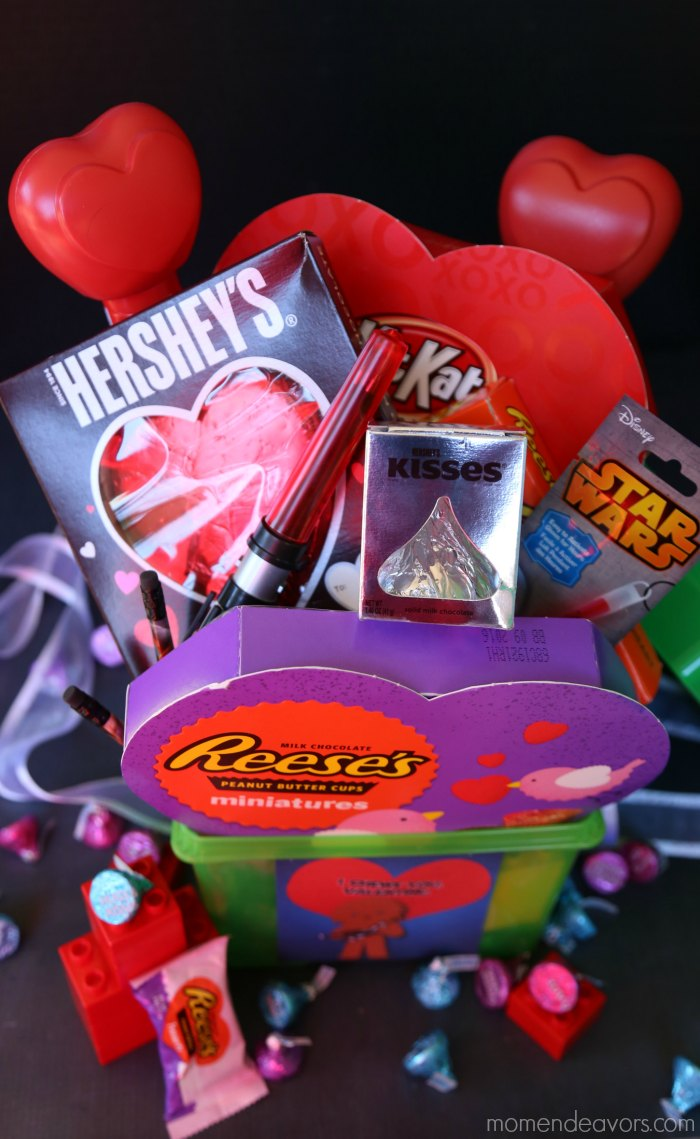 Hershey's Valentine's Basket