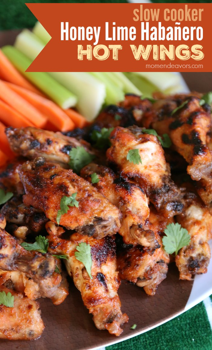 Honey Lime Habanero Hot Wings