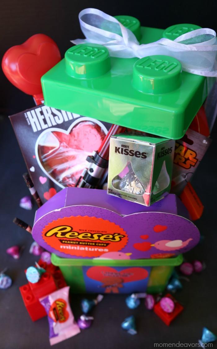 lego valentines gift basket