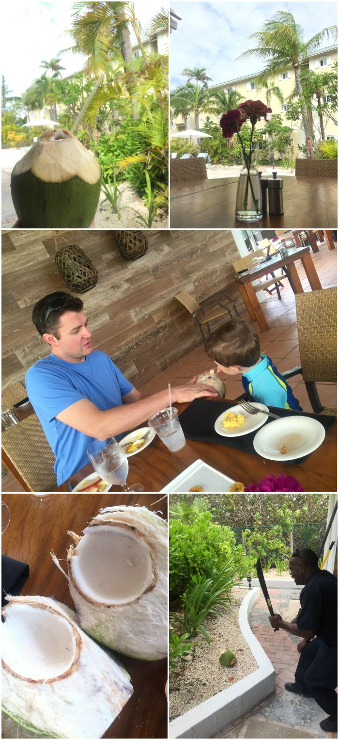 The Beach House TCI Breakfast