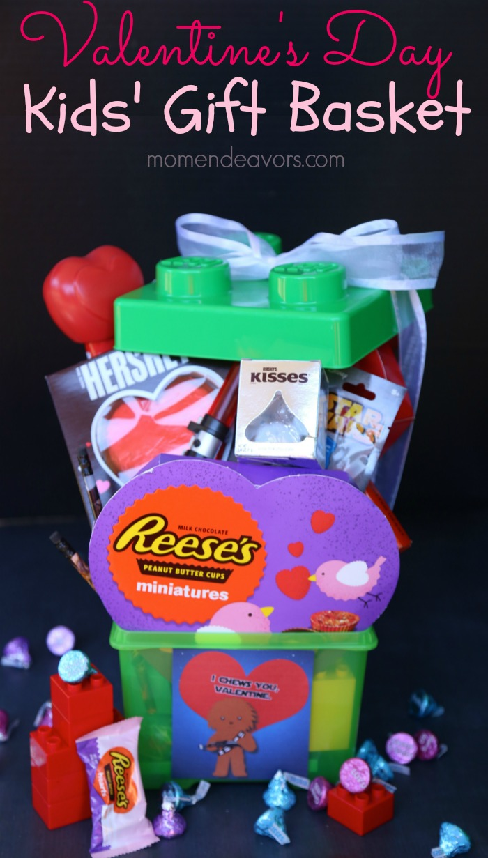 Valentine's Day Kids' Gift Basket
