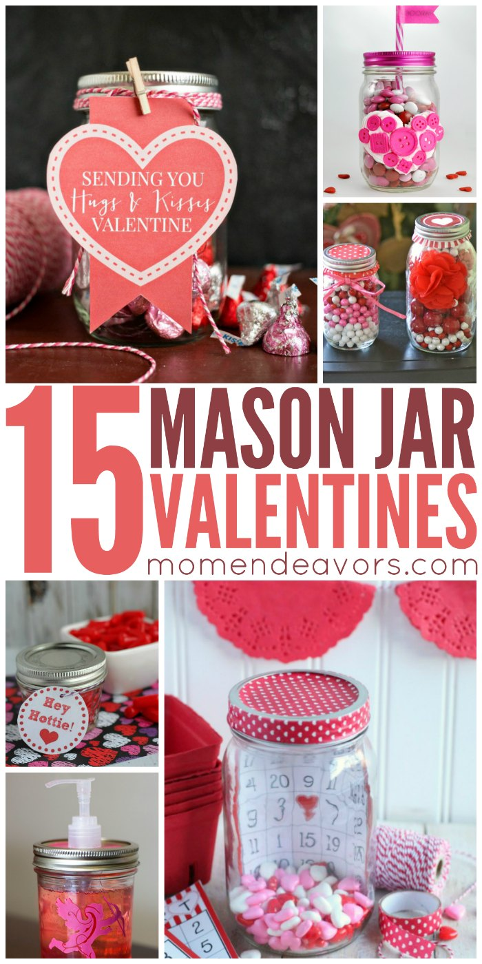15 Diy Mason Jar Valentine S Crafts Mom Endeavors