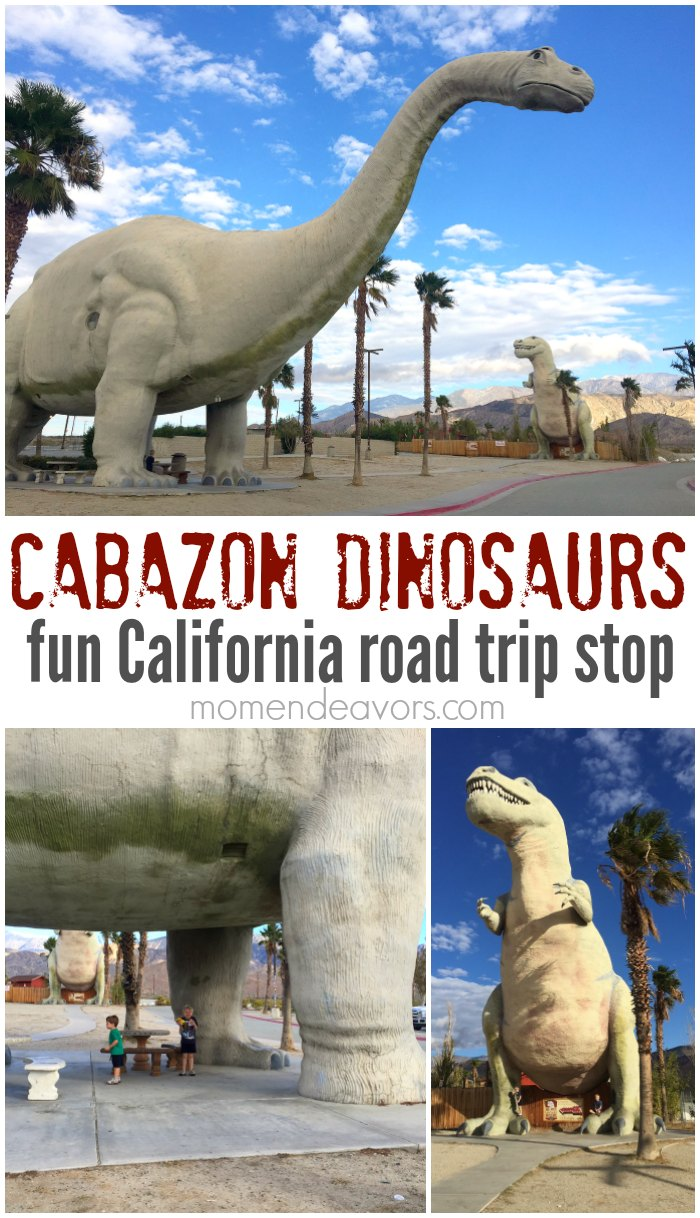 Cabazon Dinosaurs Road Trip Stop