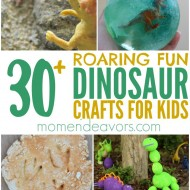 30+ Dinosaur Crafts & Activities for Kids!