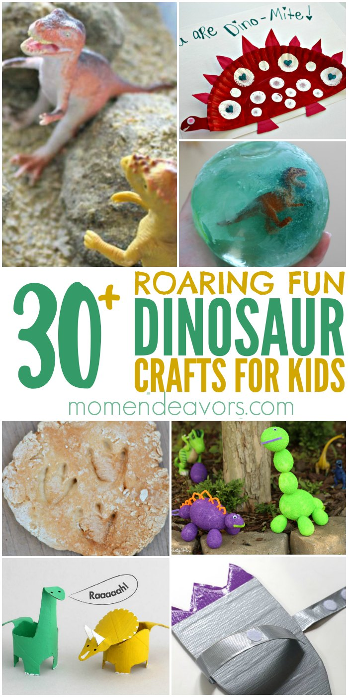 30 dinosaur crafts activities for kids for Dinosaur crafts for toddlers