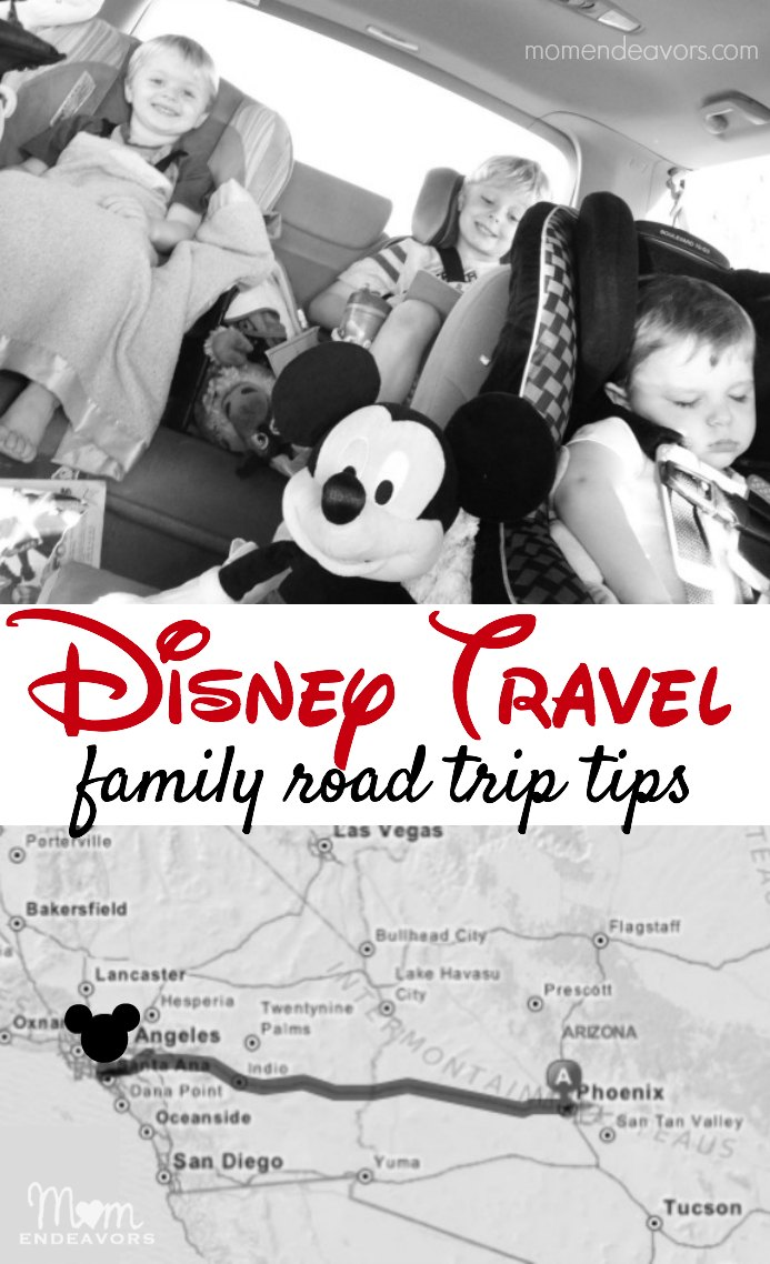Disney Travel Road Trip Tips
