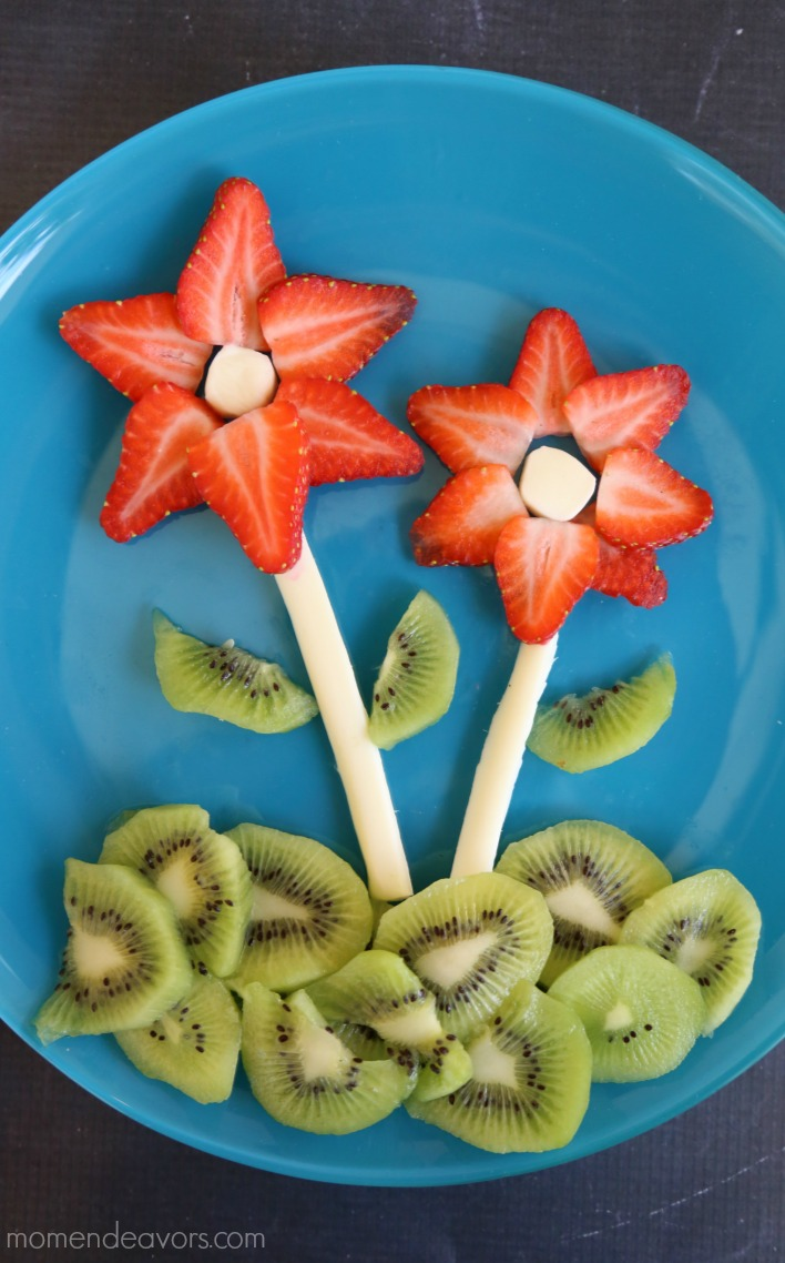 Flower Snack Plate