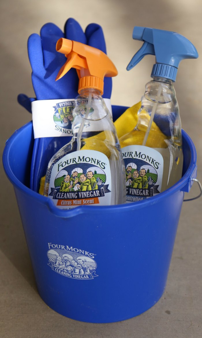 Four Monks Cleaning Vinegar