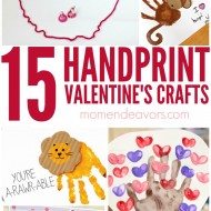 15+ Adorable Handprint Valentine's Day Crafts