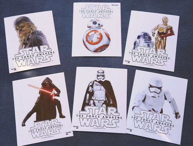 Star Wars Force Awakens Decals