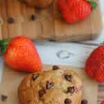 Strawberry Banana Chocolate Chip Muffins