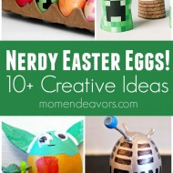 10+ Nerdy Easter Egg Ideas! (+ Contest & Giveaway!)